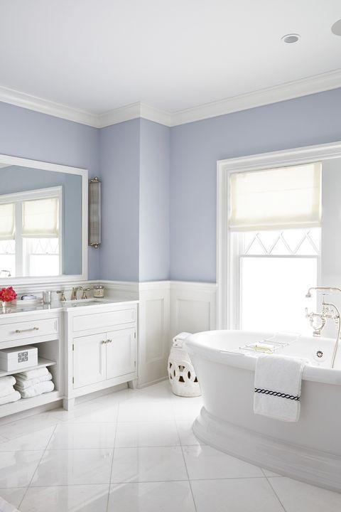 Small Cloakroom Toilet Navy