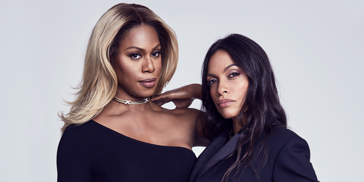 Laverne Cox and Rosario Dawson Get Real About Intersectional Feminism