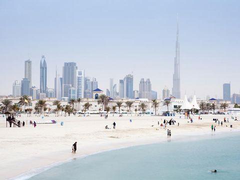 Tower block, Daytime, Metropolitan area, Urban area, City, Metropolis, Tourism, Tower, Cityscape, People on beach,