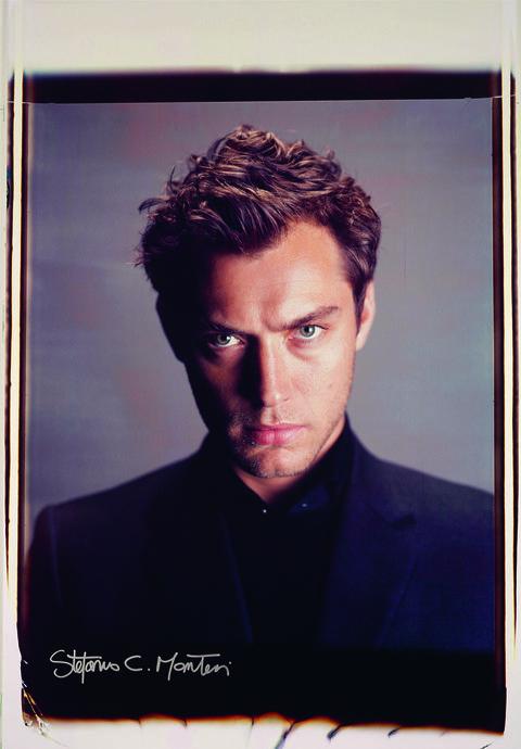 Jude Law Giant Polaroid