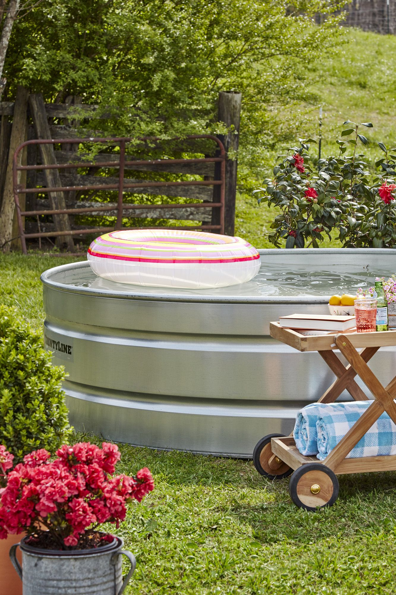 Exceptional Diy Stock Tank Pool
