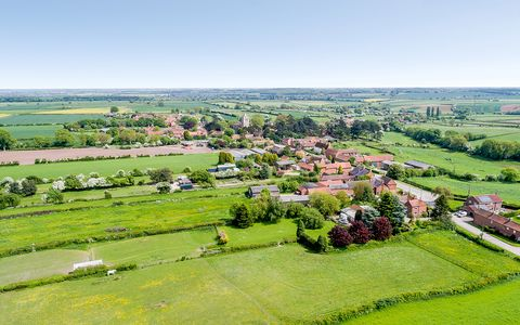 An entire Nottinghamshire village is up for sale – and it comes with a Lordship