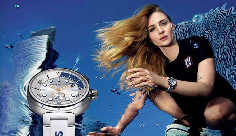 best fashion campaigns  sophie turner for louis vuitton