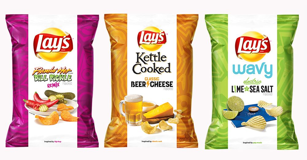Lay's Releases 3 New 'Turn Up the Flavor' Chip Flavors, Inspired By