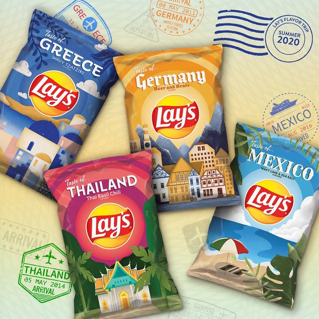 lay's international chip flavors