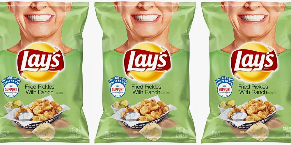 Lay S Fried Pickles With Ranch Chips Are Now At Target So