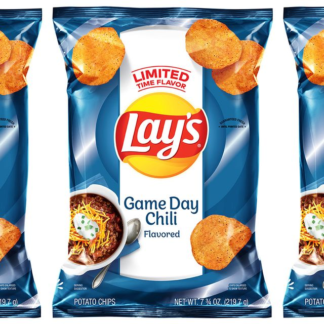 lay's game day chili flavored chips
