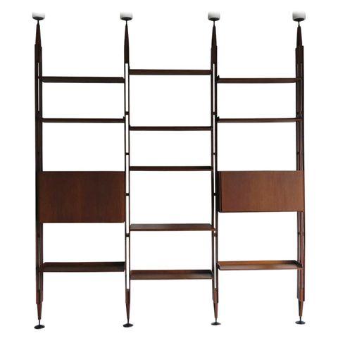 'lb7' bookcase by franco albini for poggi