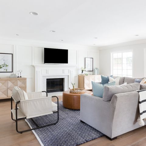 Living room, Furniture, Room, White, Interior design, Property, Floor, Building, Home, Coffee table,