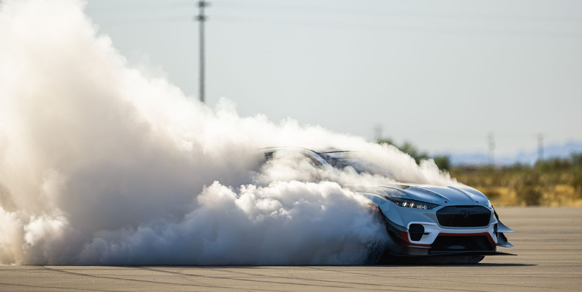 Ken Block Slays Ford Mustang Mach-E 1400 Tires