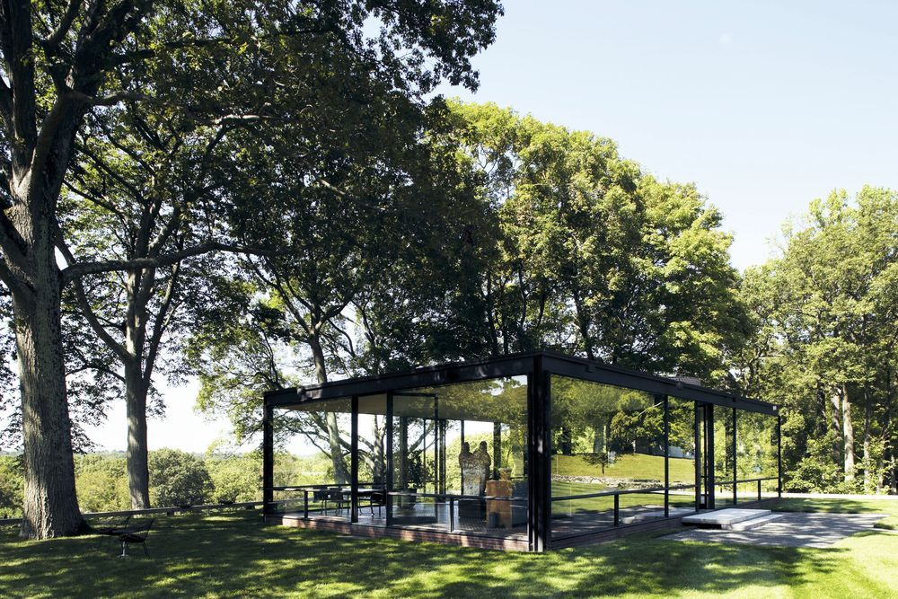 Iconic houses: Philip Johnson's Glass House is an beacon of mid-century modernism