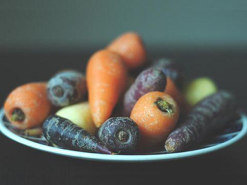 le carote sbiancadenti