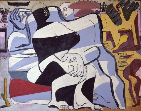 Trois Baigneuses, 1935. Le Corbusier.