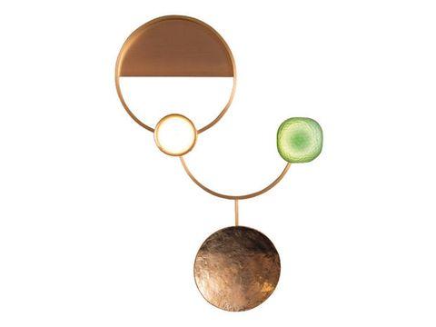 Amber, Circle, Metal, Tan, Bronze, Brass, Bronze, Chemical compound, Copper, Magnifier,