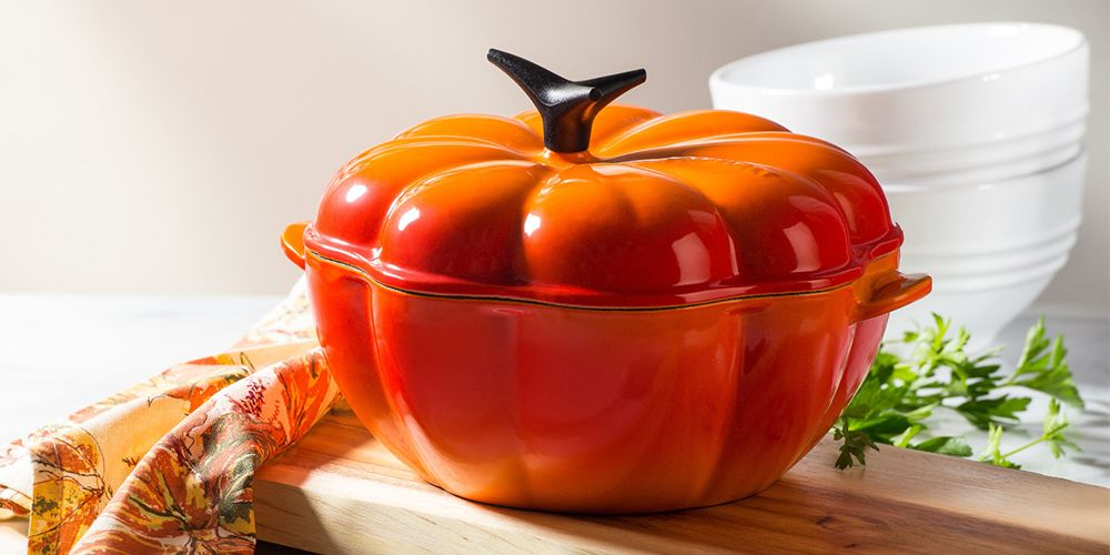 Le Creuset's Pumpkin Collection Is a Must for Serving Thanksgiving Dinner