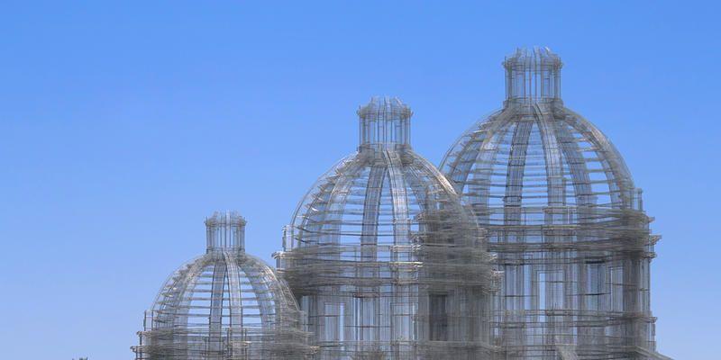 Le cupole di Edoardo Tresoldi al Coachella