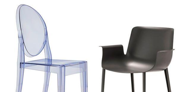 Sedie di design famosi sedie e poltrone dautore nella for Sedie plastica design kartell