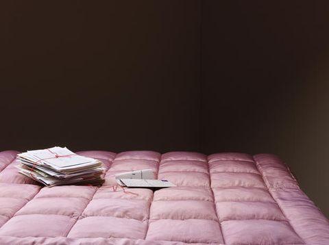 Textile, Purple, Pink, Lavender, Bedding, Still life photography, Linens, Bed sheet, Mattress, Silver,