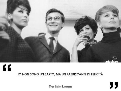 Frasi Celebri Ysl.Yves Saint Laurent Frasi Su Moda Eleganza E Stile