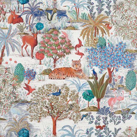 textiles con motivos florales