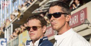"""Matt Damon y Christian Bale en """"Le Mans' 66"""""""
