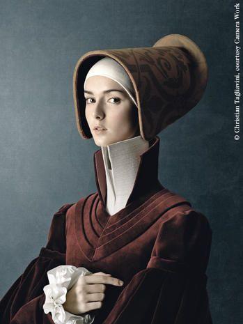 """Le mostre del mese""""Ritratto di giovane donna"""", serie 1503, 2010, di Christian Tagliavini."""