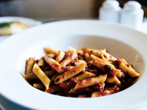 Dish, Food, Cuisine, Penne, Ingredient, Pasta, Comfort food, Italian food, Staple food, Recipe,
