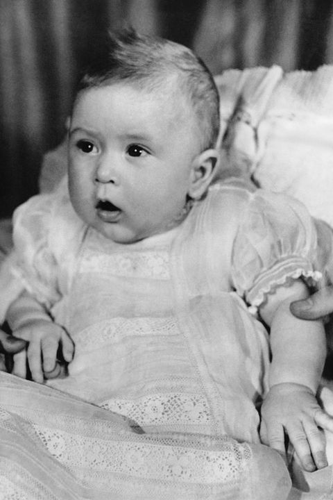 Prince Charles as a baby