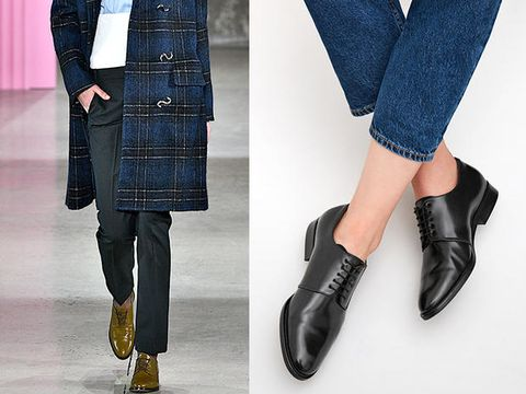 finest selection c9adb 9e3ad Scarpe stringate con tacco: le tendenze moda inverno 2018