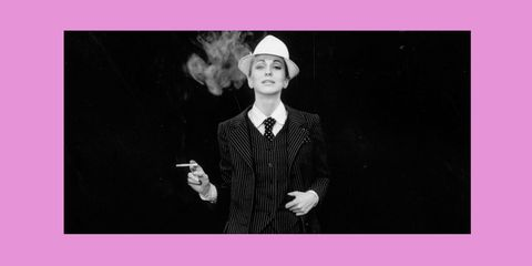 Nan Kempner, le smoking, yves saint laurent, wist u dat, feminist, mannenpak, geweigerd in restaurant