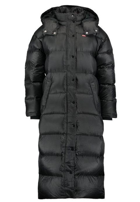 Clothing, Outerwear, Hood, Jacket, Black, Coat, Sleeve, Puffer, Fur, Parka,