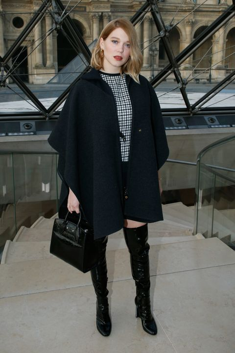 louis vuitton front row    paris fashion week womenswear fallwinter 20172018