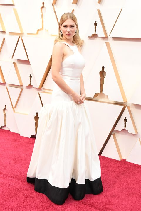 Actrice Léa Seydoux bij de Oscars 2020
