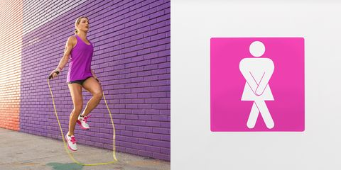 Human leg, Joint, Standing, Magenta, Pink, Purple, Athletic shoe, Violet, Knee, Playing sports,