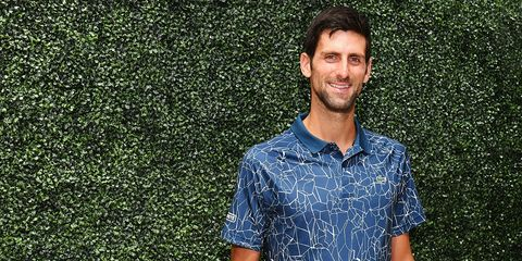 103baefa4 Novak Djokovic Lacoste Tennis Collection Interview for U.S. Open