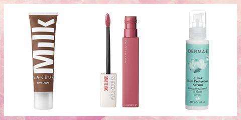 Product, Beauty, Cosmetics, Eye, Material property, Tints and shades, Liquid, Lip gloss, Eyelash, Brand,