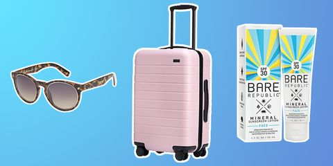 Suitcase, Hand luggage, Baggage, Product, Azure, Luggage and bags, Travel, Bag,