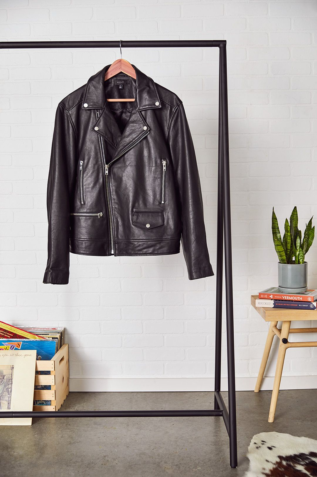 The Affordable Leather Jacket That Looks Like It Costs a Couple Grand