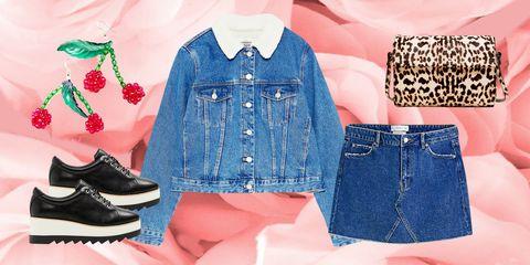 Denim, Clothing, Jeans, Blue, Shorts, jean short, Outerwear, Pink, Fashion, Textile,