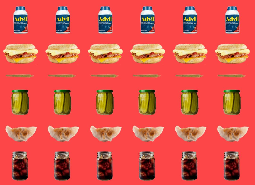 Esquire's Best Hangover Foods - Food and Drinks to Get Over a Hangover