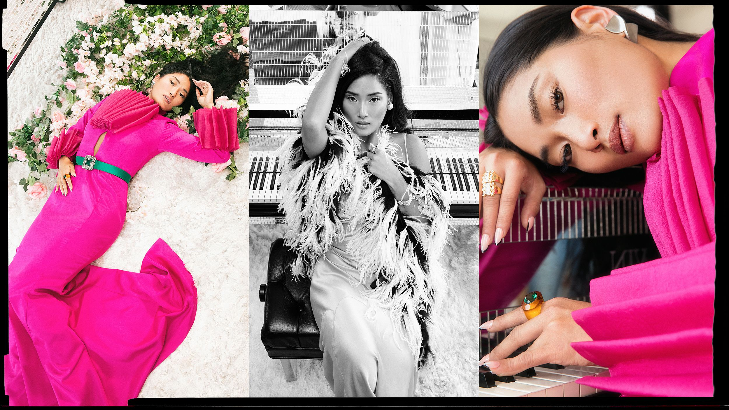 A Peek Inside the Couture-Filled Closet of the Pianist Who Stole the Spotlight From Cardi B