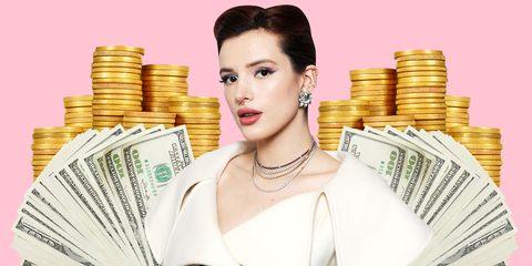 Money, Cash, Skin, Currency, Product, Beauty, Chin, Saving, Money handling, Games,