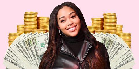 Money, Cash, Currency, Saving, Money handling, Smile,