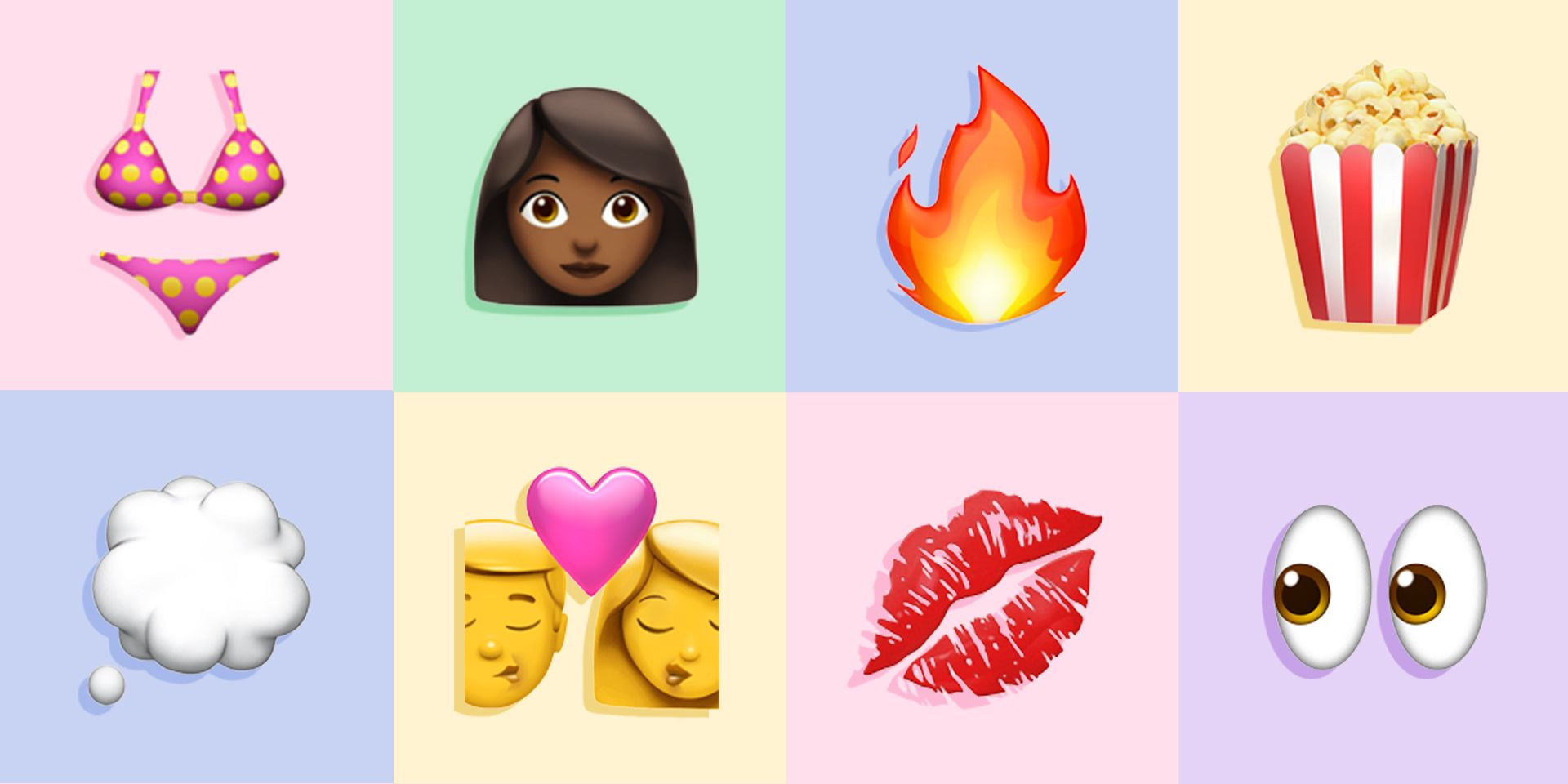 12 Hook-Up Emoji Combos For When You're Down to Make Out
