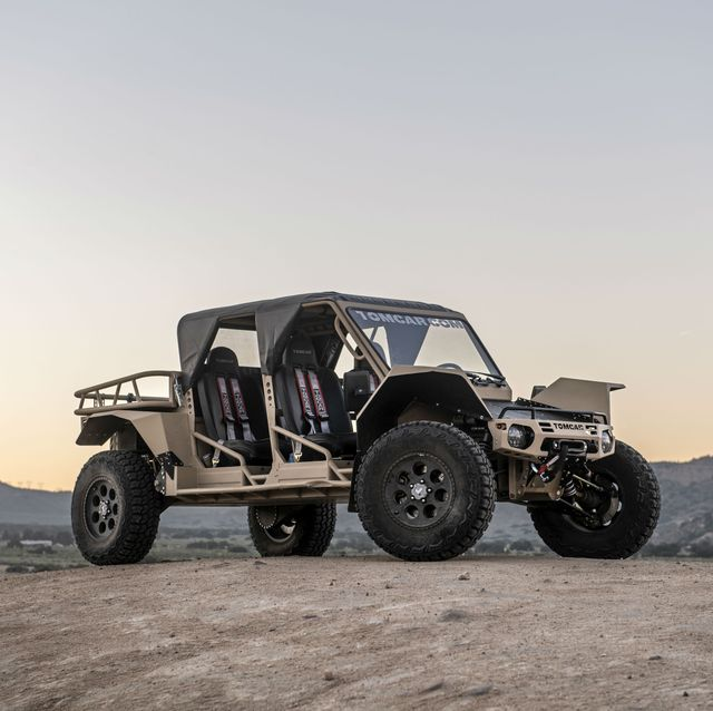 4 X 4 >> 11 Cool Things We Learned About The Tomcar Tx 4x4
