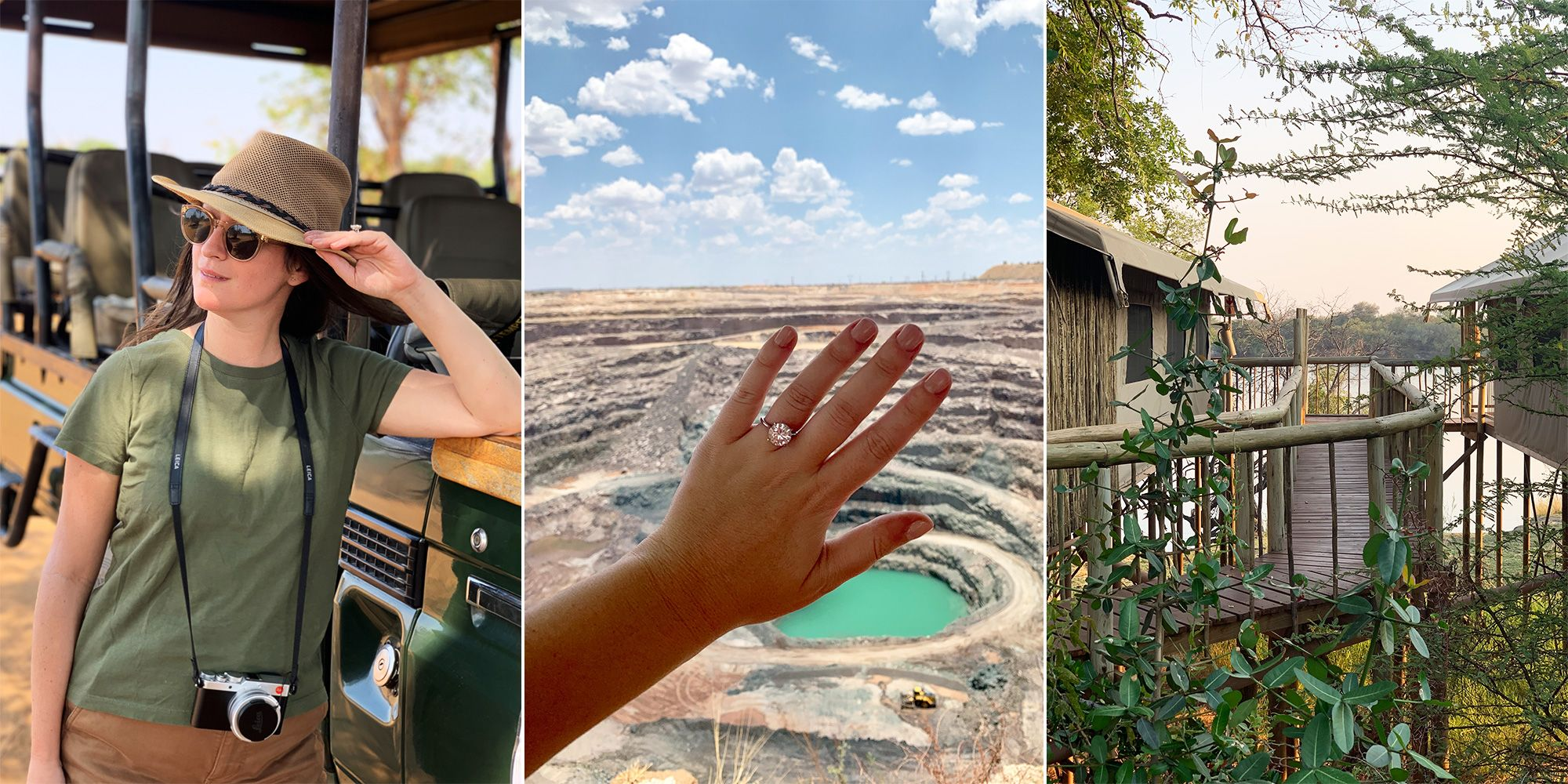 This Hollywood Stylist Traveled to Africa to See How Diamonds Are Recovered Firsthand