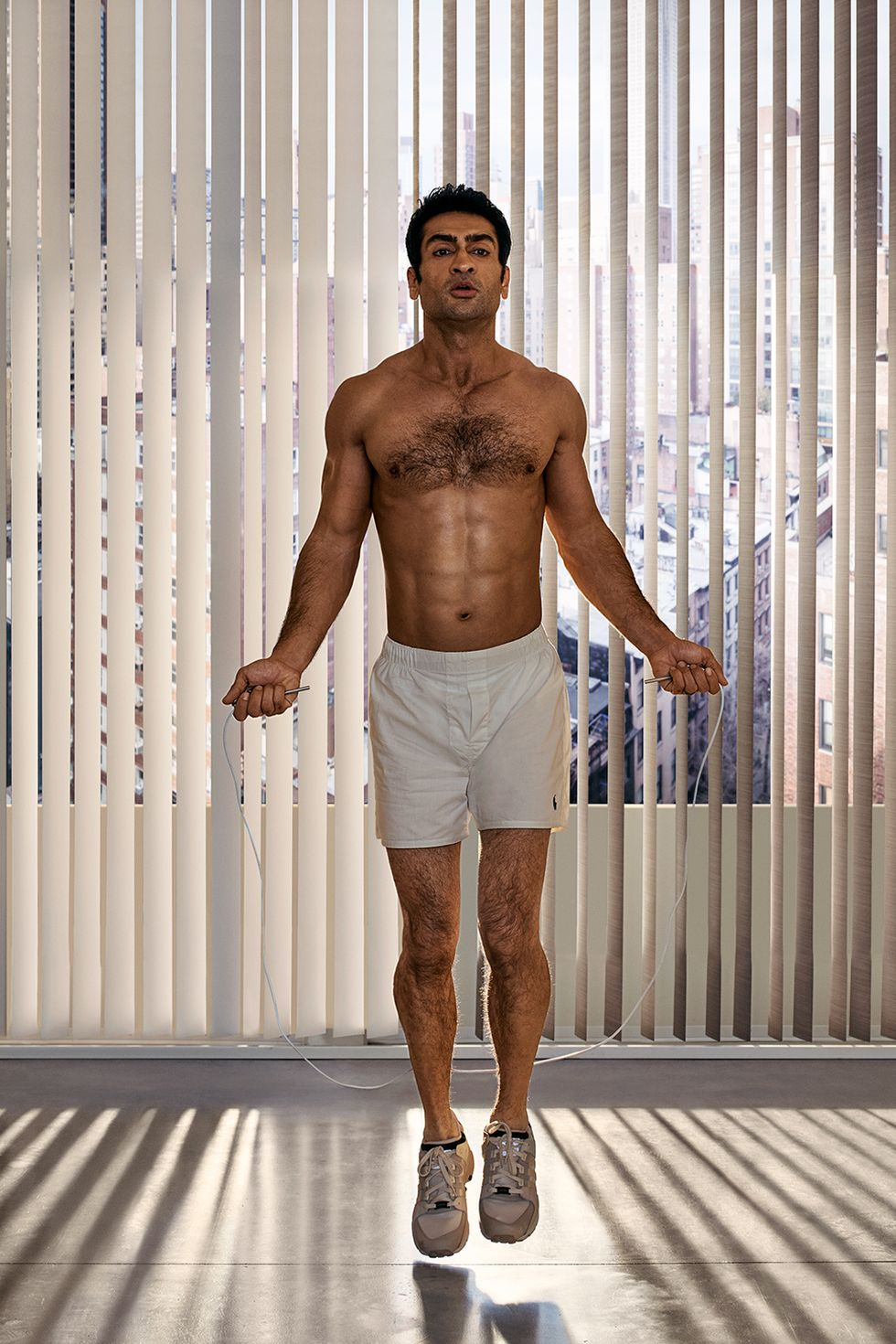 These 3 Moves Helped Kumail Nanjiani Build His Superhero Body