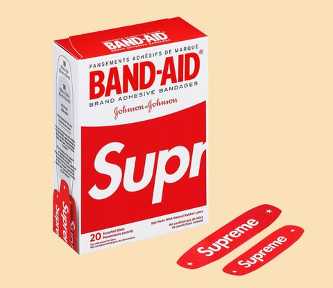 Supreme Is Making Band-Aids So I Guess I Have to Scrape My Elbow Now