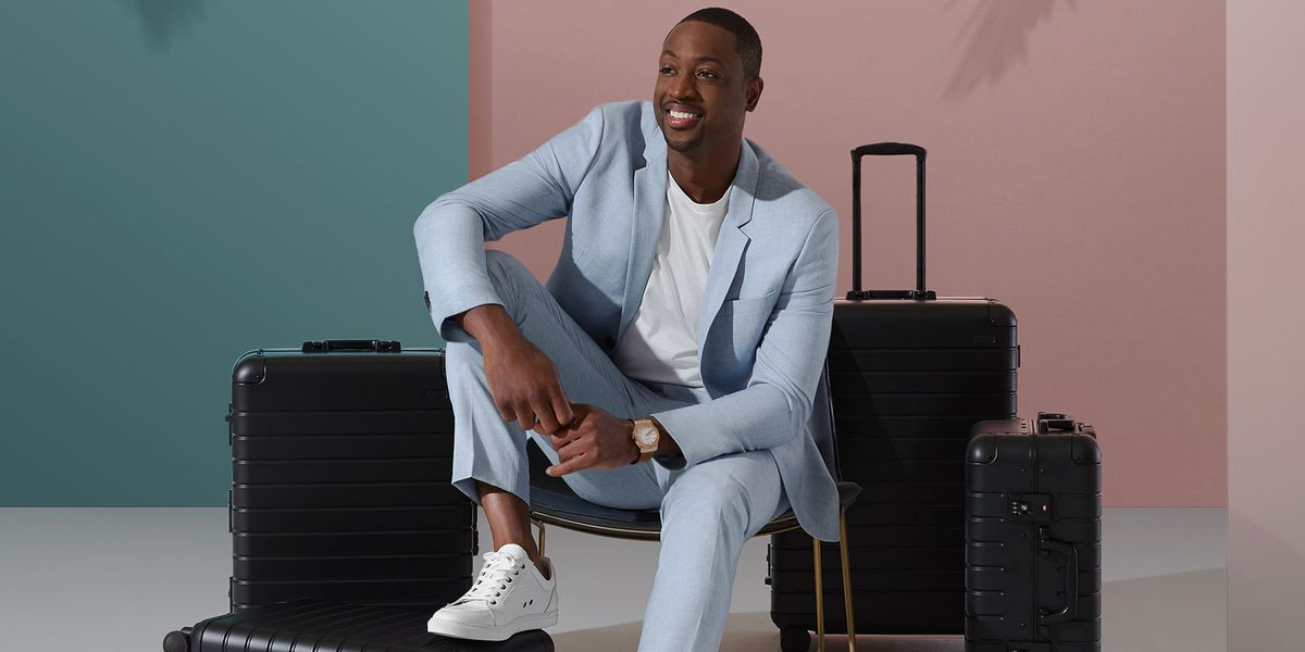 Dwyane Wade And Away Designed Your New Favorite Suitcase