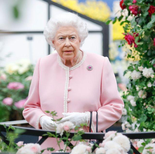 Queen Elizabeth Chelsea Flower Show